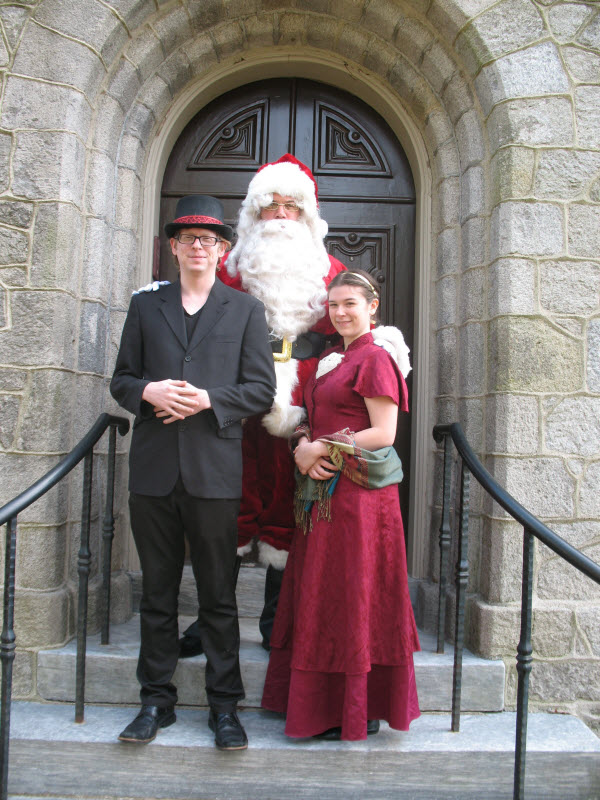 Dickens Christmas Party | Ebenezer Maxwell Mansion