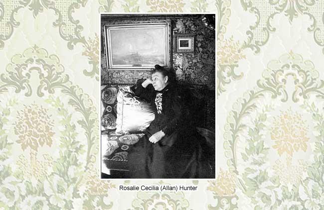 Rosalie Cecilia Hunter | Ebenezer Maxwell Mansion