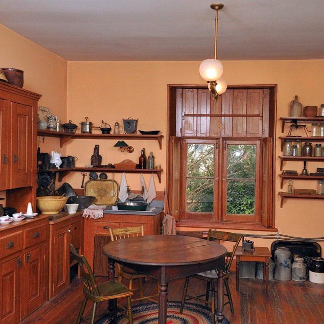Kitchen Upstairs: Ebenezer Maxwell Mansion