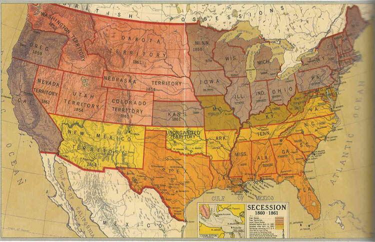 Secession Map
