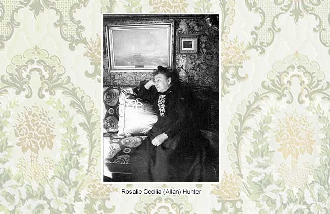 Rosalie Cecilia Hunter | Ebenezer Maxwell Mansion